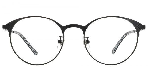 Crest Round eyeglasses