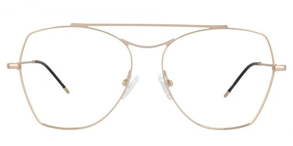 Blaine Aviator Prescription Glasses - Yellow