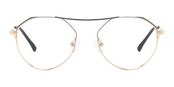 Jonas Geometric Prescription Glasses - Yellow