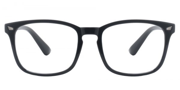 Zen Square Prescription Glasses - Black