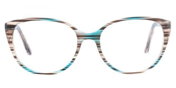 Polly Oval Prescription Glasses - Green