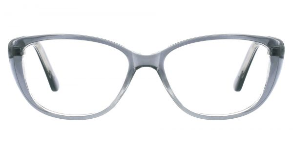 Sicily Cat Eye Prescription Glasses - Gray