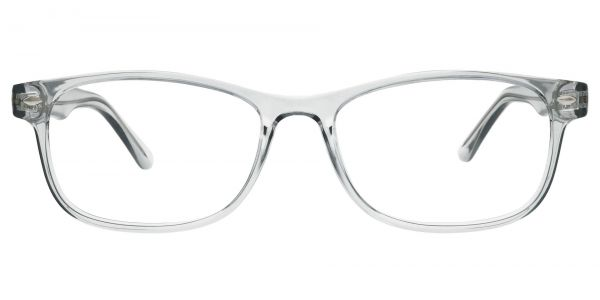 Village Rectangle Prescription Glasses - Gray