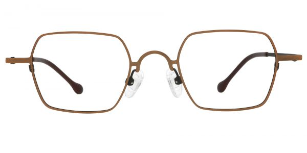 Cortado Geometric Prescription Glasses - Yellow