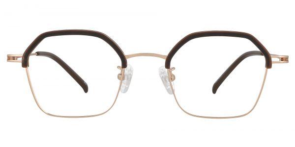 Howes Browline Prescription Glasses - Brown