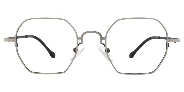 Easton Geometric Prescription Glasses - White