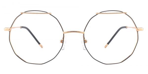 Harpo Geometric Prescription Glasses - Yellow