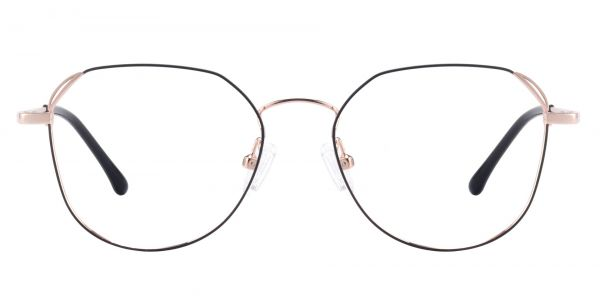 Figaro Geometric Prescription Glasses - Pink