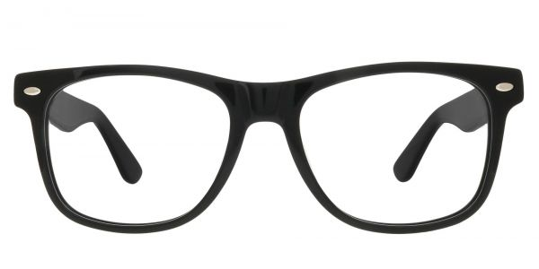 Rye Square Prescription Glasses - Black