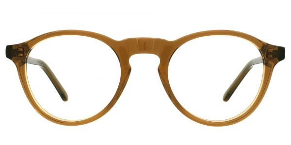 Dory Oval Prescription Glasses - Brown