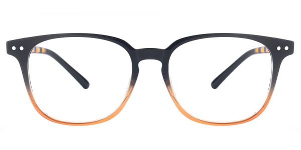Ravine Oval Prescription Glasses - Black