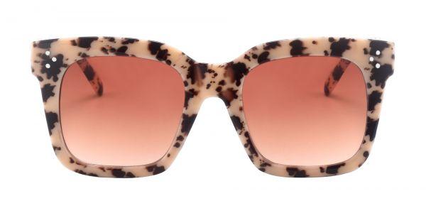 Vanessa Square Prescription Glasses - Leopard