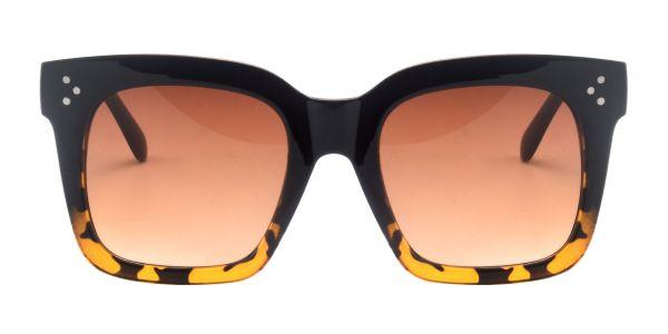 Vanessa Square Prescription Glasses - Black