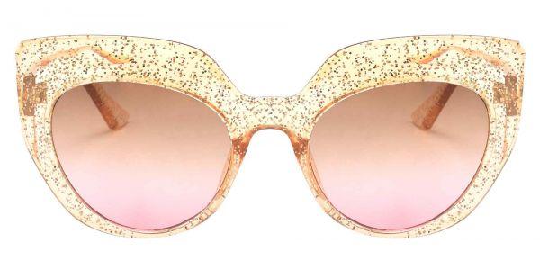 Starlight Cat Eye Prescription Glasses - Brown