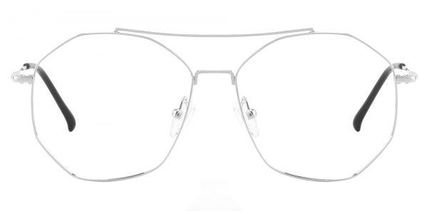 Lafayette Aviator Prescription Glasses - White