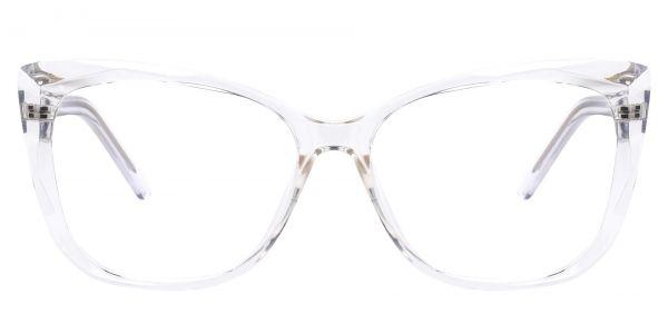 Mabel Square Prescription Glasses - Clear