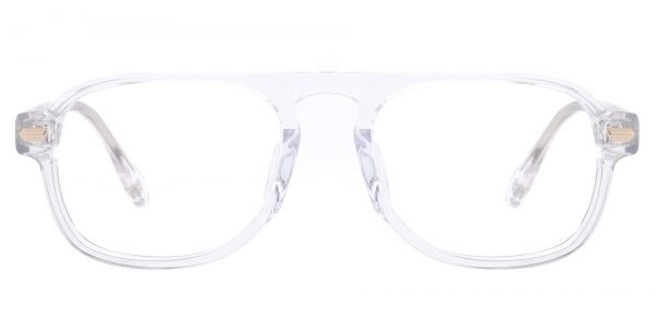 Biscayne Aviator Prescription Glasses - Clear