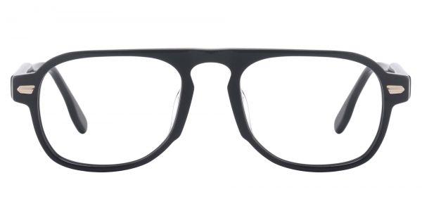 Biscayne Aviator Prescription Glasses - Black