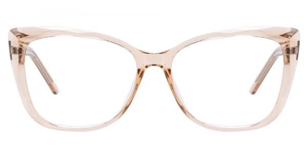 Mabel Square Prescription Glasses - Brown