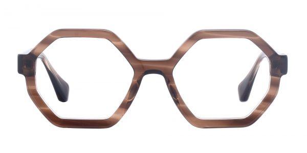 Pilot Geometric eyeglasses