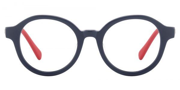 Roxbury Round Prescription Glasses - Blue