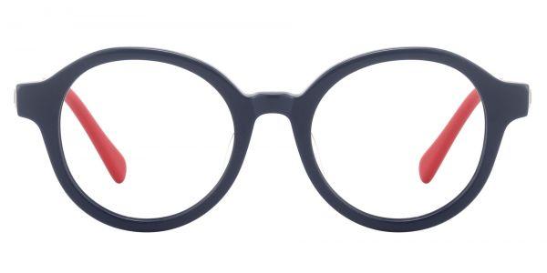 Dudley Round Prescription Glasses - Blue