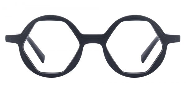 Hexagon Round eyeglasses