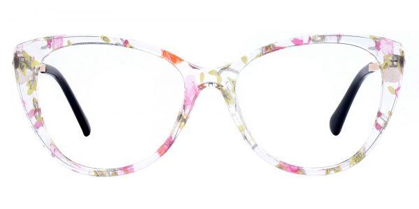 Roma Cat Eye Prescription Glasses - Floral