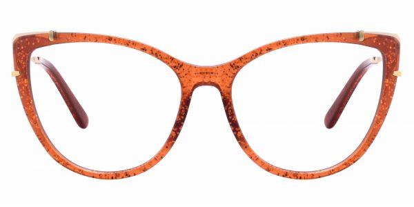 Tawny Cat Eye eyeglasses