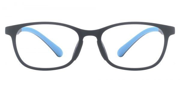 Cosmo Rectangle Prescription Glasses - Black