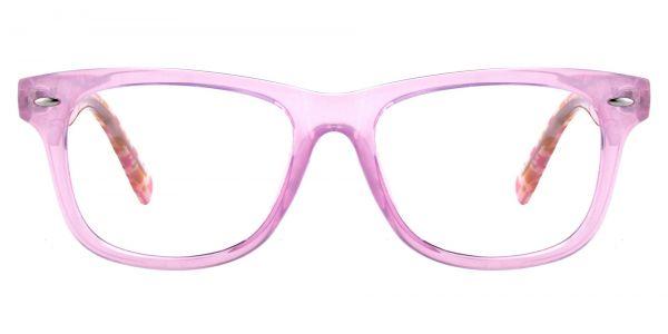 Leria Square Prescription Glasses - Pink