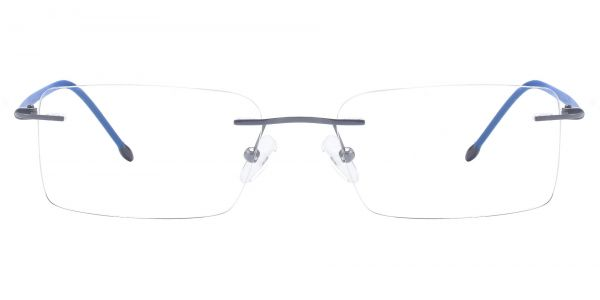 Clayton Rimless eyeglasses