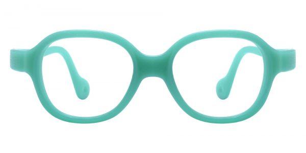 Oden Oval Prescription Glasses - Green