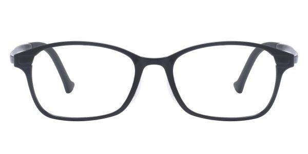 Kipp Oval Prescription Glasses - Black