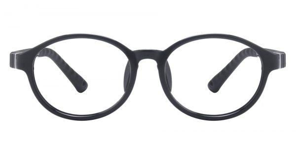 Sitka Oval Prescription Glasses - Black