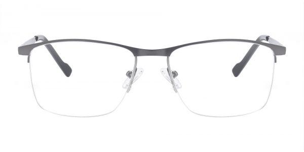Manila Rectangle Prescription Glasses - Gray