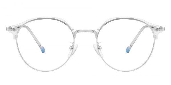 Maynard Browline Prescription Glasses - Silver