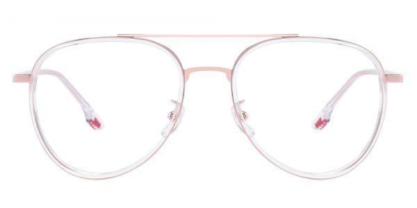 Lourdes Aviator eyeglasses