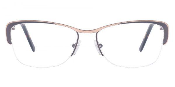Rosewood Oval eyeglasses