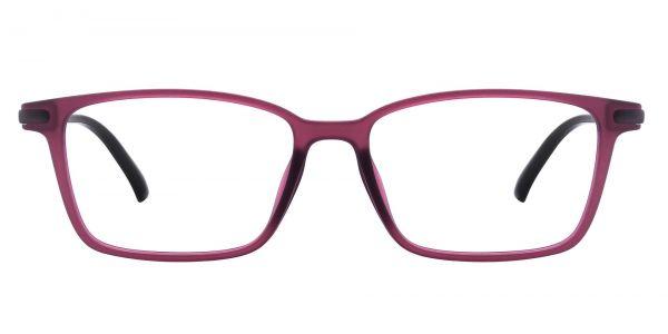 Dillon Rectangle Prescription Glasses - Red