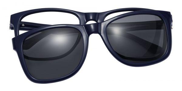 Osage Square Prescription Glasses - Blue
