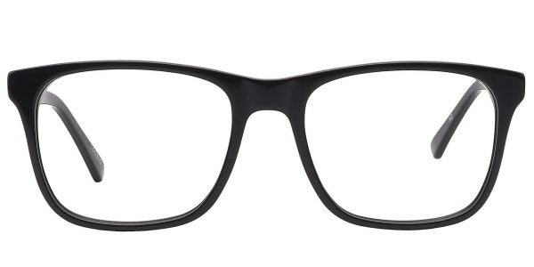 Cantina Square Prescription Glasses - Black