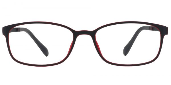 Merlot Rectangle eyeglasses
