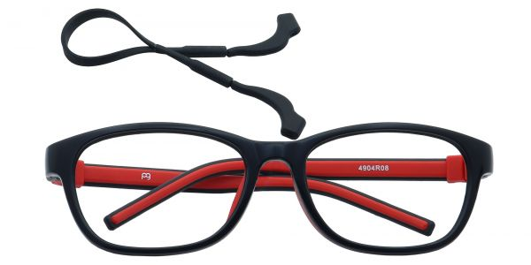 Edison Oval Eyeglasses For Kids