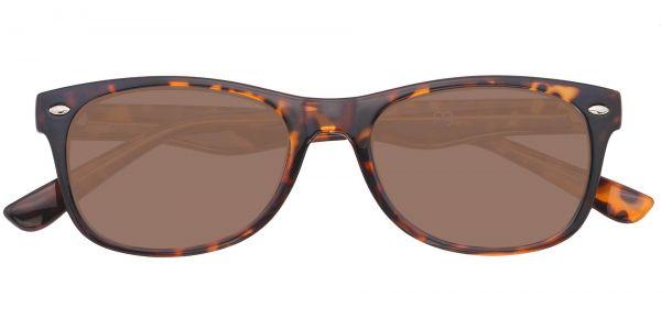 Leland Rectangle Prescription Glasses - Tortoise-1