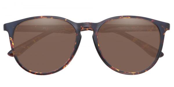 Maple Oval Prescription Glasses - Tortoise-1