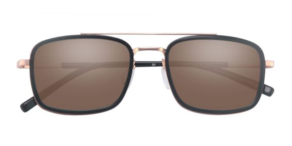Margot Aviator Prescription Glasses - Black