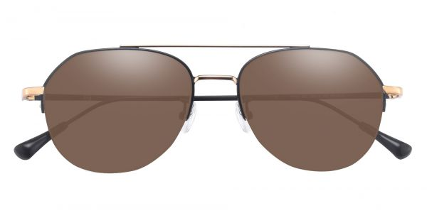 Porter Aviator Prescription Glasses - Black