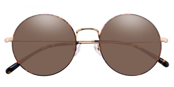 Sawyer Round Prescription Glasses - Tortoise