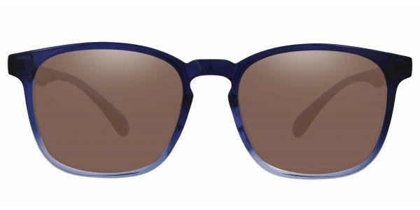 Dusk Classic Square Prescription Glasses - Blue
